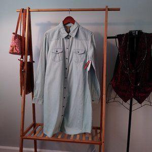 NWT Bit & Bride Longsleeve Cotton Shirtdress M